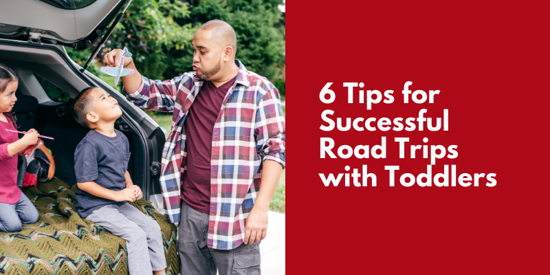 road trips with toddlers